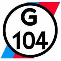 Garage 104  logo