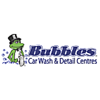 Bubbles Car Wash & Detailing, Kelowna - The finest full service Car Wash and Auto Detailing logo